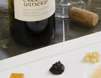 Wine and Cheese Tasting Image
