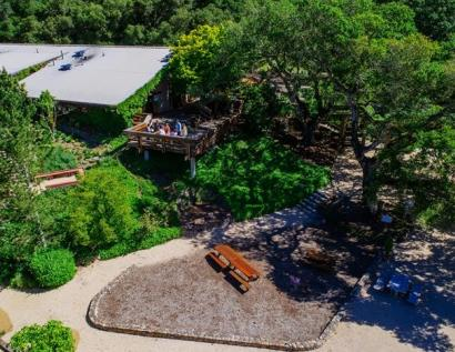 Matanzas Creek Tasting Room Overhead Photo