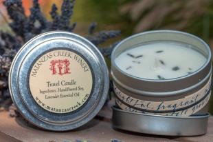 Matanzas Creek Lavender Travel Candle