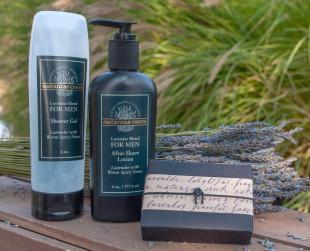 Matanzas Creek Lavender Men's Soap, Shower Gel & After Shave